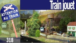 Trinville 1962 - un réseau de train jouet