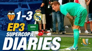 Behind the scenes with Ramos & Modric after AMAZING Kroos corner goal! | Valencia 1-3 Real Madrid!