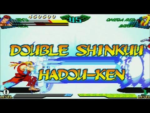 Marvel Super Heroes Vs. Street Fighter: Ken & Ryu Expert Playthrough