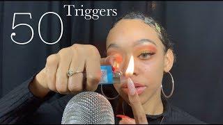 ASMR | 50 Triggers