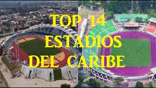 !!Top 10 Estadios del Caribe, Caribbean stadiums, Mas grandes, Largest Stadiums.Mayor Capacidad 2017