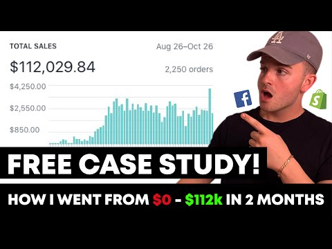 0-$112,029 in 59 Days... FREE Course/Case Study- Shopify Dropshipping thumbnail