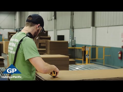 How Paper Is Made Into Corrugated Board | Georgia-Pacific