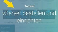 vServer mieten und einrichten - Prepaid-Hoster.de [Für Anfänger] [Deutsch]