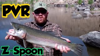 Huge Rainbow Trout Caught @ Pleasant Valley Reservoir Bishop,CA!!