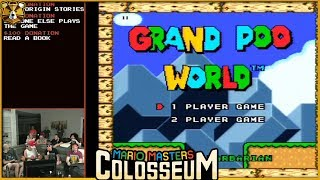 Grand Poo World 1 With LaserBelch Barb, And Tofu! Mario Masters Colosseum 3