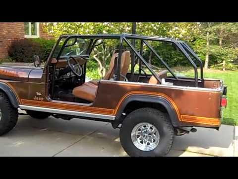 For Sale 1982 Jeep Scrambler Laredo Walkaround