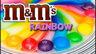 M&M's RAINBOW COLORFUL Magic Experiment M&M's  SCIENCE Crazy SCIENCE RAINBOW