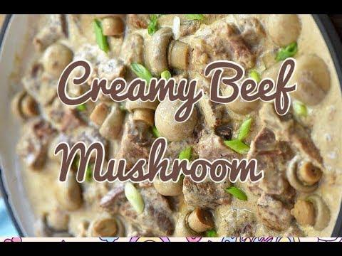 CREAMY BEEF MUSHROOM||EASY HOMECOOK
