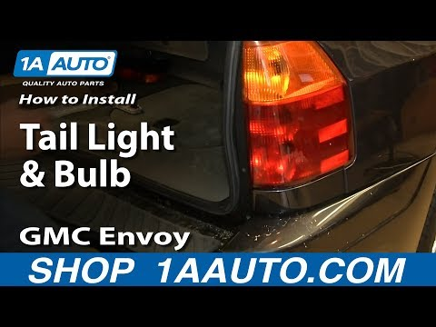 How To Replace Tail Light 02 06 Gmc Envoy Xl Youtube