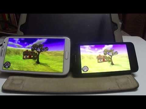 Xolo Q800 v/s Samsung Note 2 : Nenamark Test