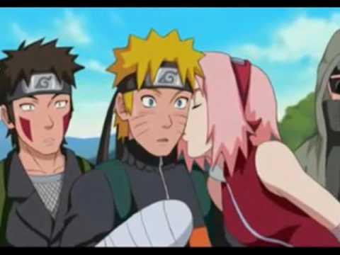 Sakura and Naruto - Kiss The Girl - YouTube