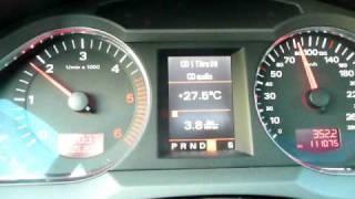 audi a6 v6 3 0 tdi quattro 05 2009 acceleration autoroute 2