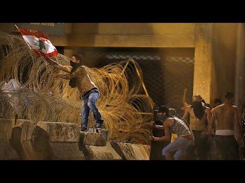يورو نيوز: مظاهرات في لبنان للمطالبة بإيجاد حل جذري لأزمة تراكم النفايات منذ أسابيع