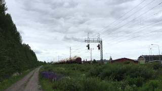[VR Transpoint] Freight train nr. 3112 pulled by class Sr1 electric to Sköldvik passing Jokela.