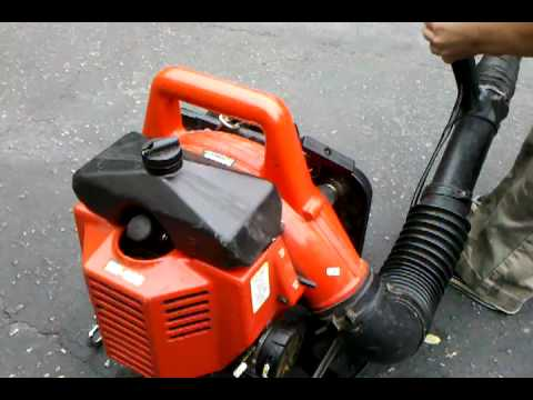 The Recoil Kid Introduces His Homelite Backpack Blower Youtube