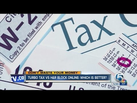 Turbo Tax vs H&R Block online: Which is better?