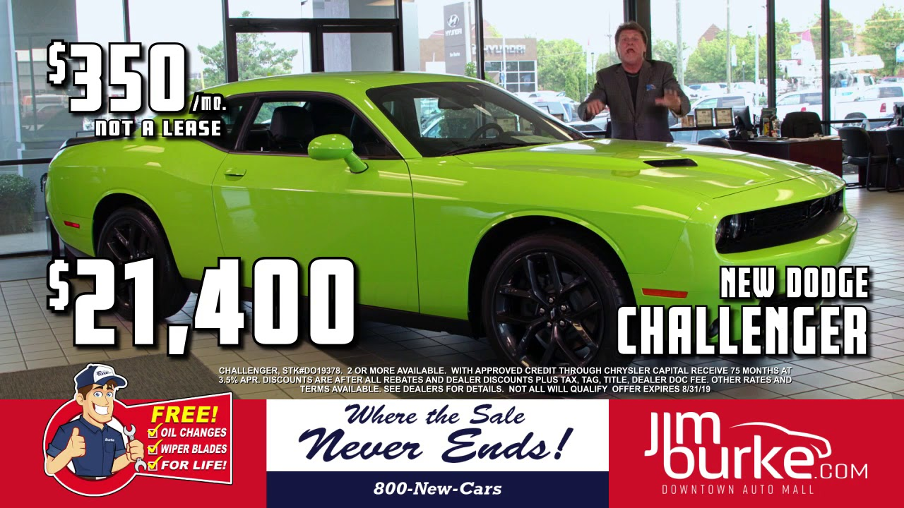 Jim Burke Dodge >> Jim Burke Dodge 2019 Challenger 21 400 Lighting In A Bottle