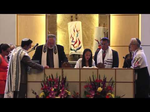 Gia Gershon-Friedberg Bat Mitzvah Service 8-25-12
