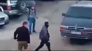 Праворадикалы выгоняют цыган в Киеве