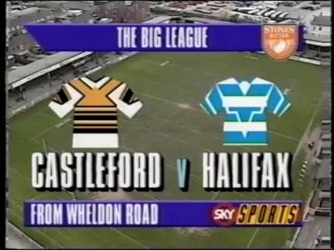 1993/94 Premiership Quarter Final Halifax v Castleford