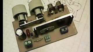 Изготовление печатной платы.Видеоурок для начинающих радиолюбителей.