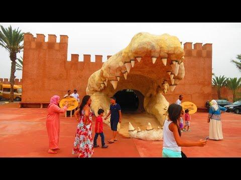 Crocoparc Agadir, MAROC :1er parc à crocodiles -حديقة التماسيح بأكادير