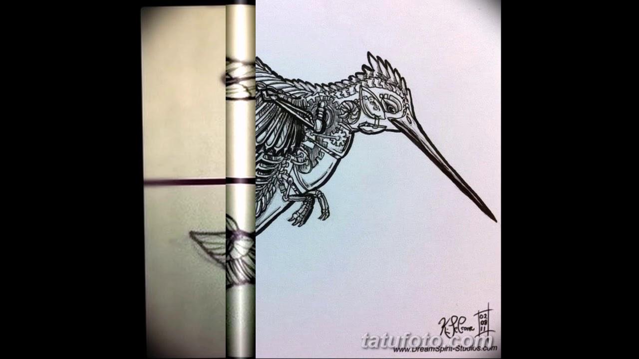 татуировки для девушек колибри фото ой
