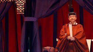 Historische Zeremonie: Japan feiert Naruhitos Thronbesteigung