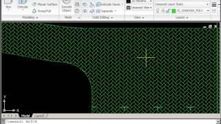 AutoCAD 2D Drawing Course B - Site Plan - Part 5 - Hard Landscape Hatching