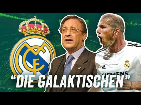'Die Galaktischen' - Real Madrid mit Zidane, Beckham & Ronaldo! Das beste Real aller Zeiten?