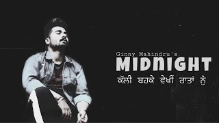 Midnight || Ginny Mahindru || Bagga || Thelittboy || Latest Punjabi Songs 2020 || Sad Song || TEAMBD