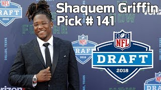 Shaquem Griffin Gets Selected by the Seattle Seahawks | 2018 NFL Draft