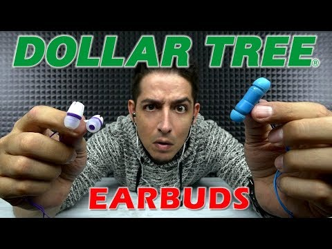 $1 Earbuds From Dollar Tree
