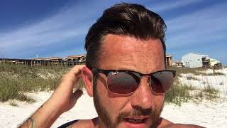 Hair Replacement Mens Hair System Review Day at the Beach Clear Bond