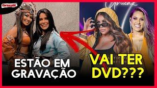 Após meses em silêncio a Calcinha preta resolve gravar , Yara tche e Walkiria Santos Juntas ???