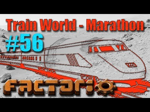 Factorio - Train World Marathon Campaign - 56 - Solar Train