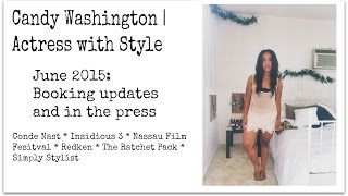 Candy Washington | Actress with Style June 2015 Updates