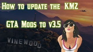 PS3 tutorial - how to update GTA V KM Z mods to v3.5! CFW only! But HEN version being worked on!