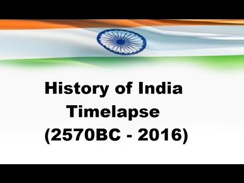History of India - Timelapse (2570 BC - 2016)