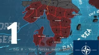 Let's Play Wargame AirLand Battle NATO Fortress Olso Campaign Battle 1