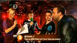 Muse Interview With Jo Whiley (BBC Radio 2)