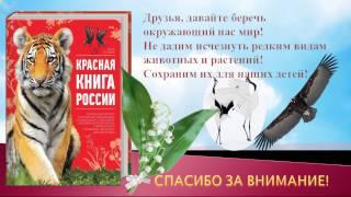 """Презентация """"Красная Книга или возьмем под защиту"""""""
