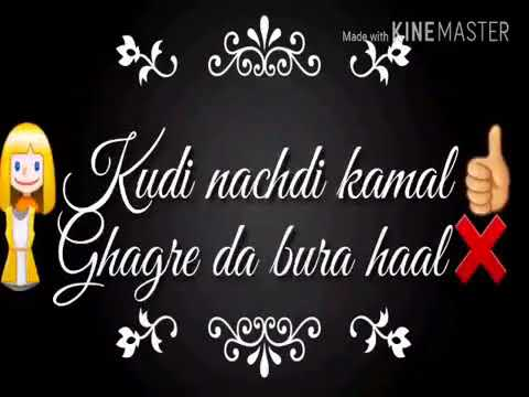 BILLO HAI Status   – SAHARA Feat  Manj Musik, Raftaar   Kudi Nachdi Kamal Whatsapp Status