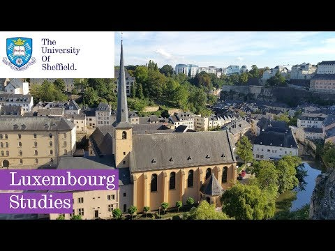 Luxembourg Studies at Sheffield