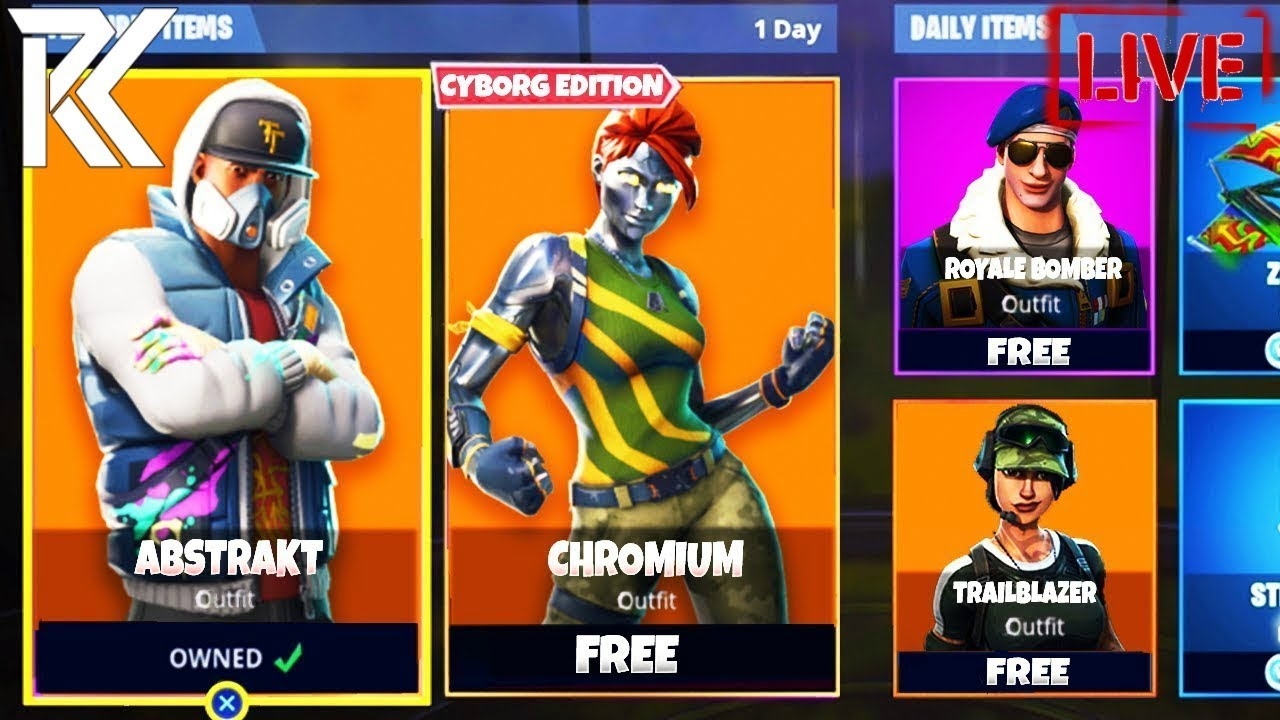 Fortnite Battle Royale New Abstract Skin 22 Wins