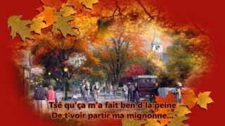 Play Video 'Toune d'automne - Les Cowboys fringants (Photo-récit)'