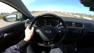 2018 Volkswagen Jetta POV Test Drive