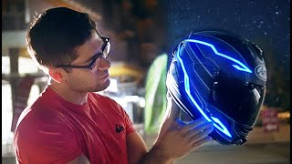 Illuminating an Arai Corsair X
