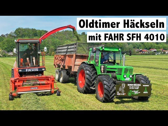 Oldtimer Häckslen mit Fahr SFH 4010 und Deutz 13006 special | Koim Briada aus Bayern
